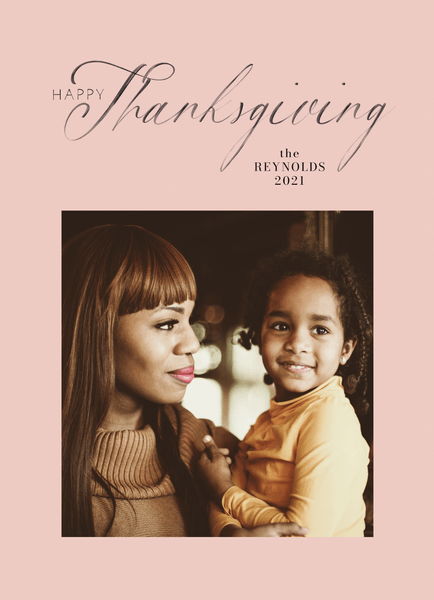 Delicate Thanksgiving