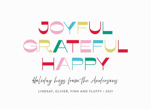 Joyful Grateful Holiday