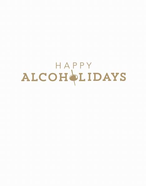 Funny Happy Holidays Card