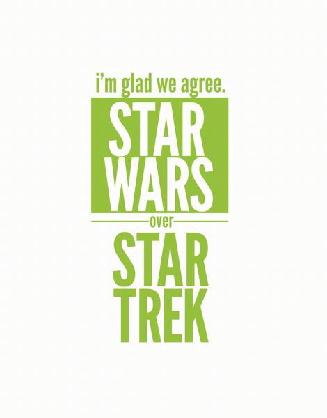 Star Wars Over Star Trek