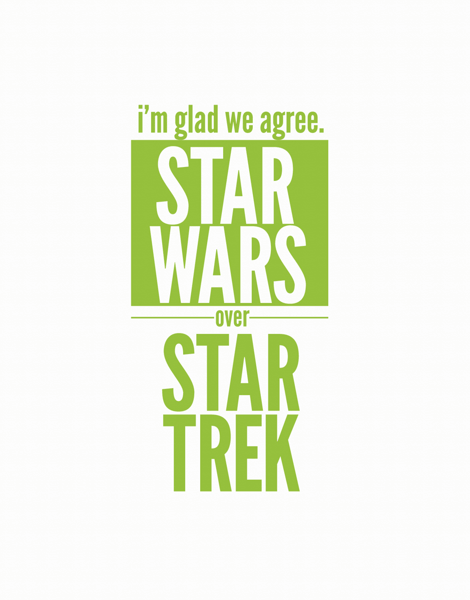 Star Wars Over Star Trek