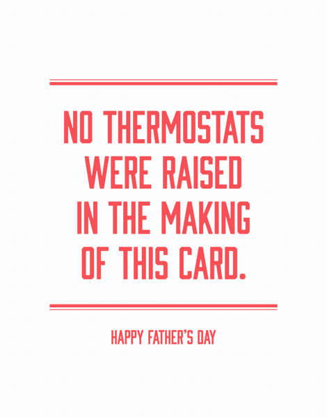 Dad Thermostat