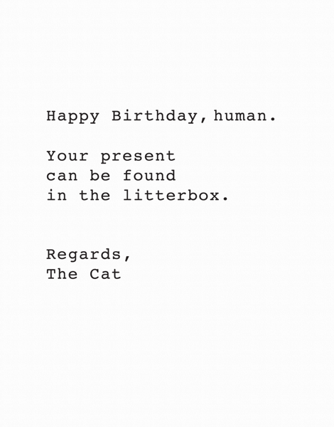 From The Cat