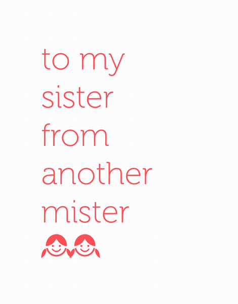 Sister From Another Mister