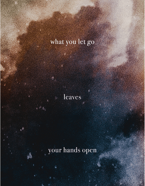 What You Let Go Leaves