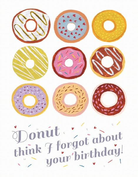 Donut Birthday