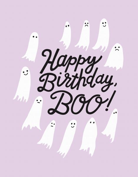 Birthday Boo