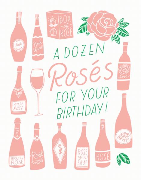 A Dozen Rosés