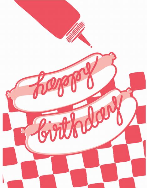 Hot Dog Birthday