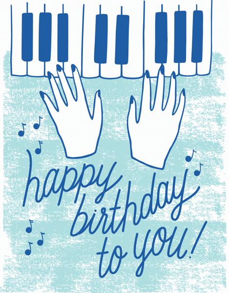 Piano Birthday
