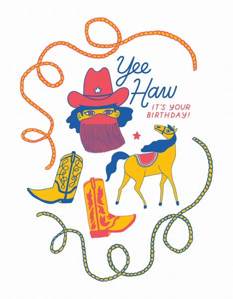 Yee-Haw Birthday
