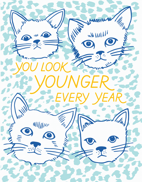 Younger Every Year Cats