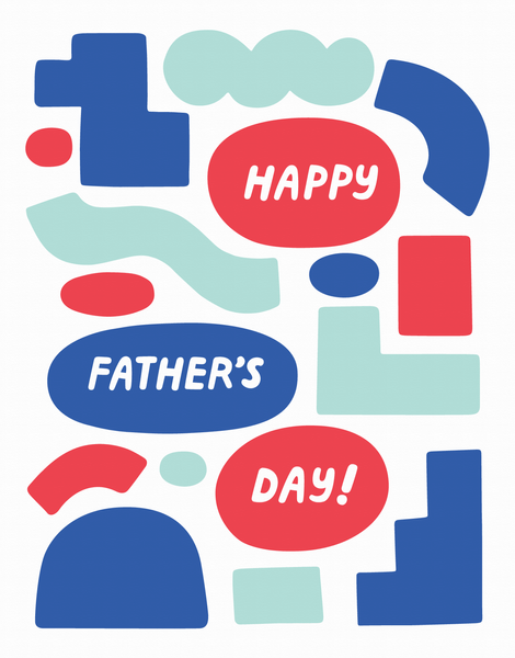 Father's Day Shapes