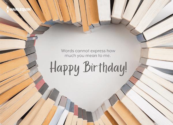 Happy Birthday Words
