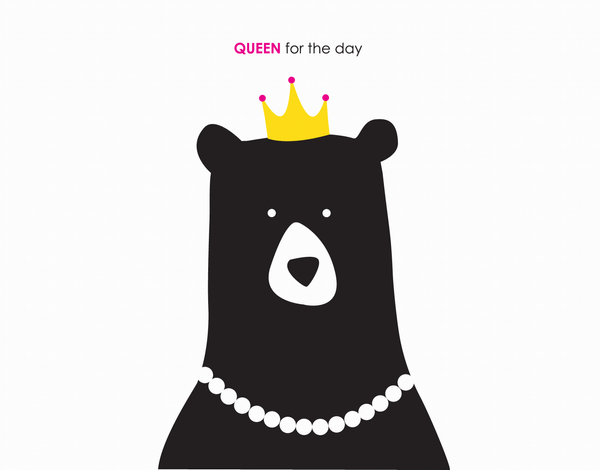 Queen For The Day Birthday Card