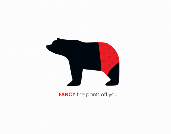 Fancy The Pants Off You Cute Love Card