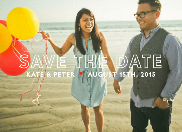 Knockout Save the Date