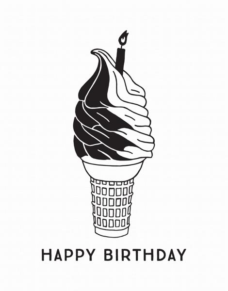 Birthday Cone