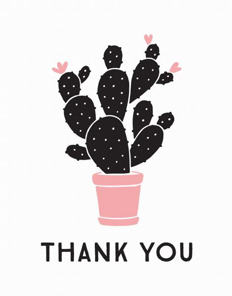 Cactus Thank You