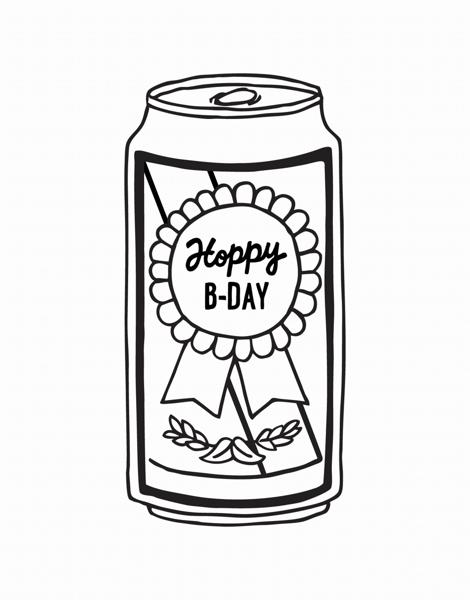 Hoppy Birthday