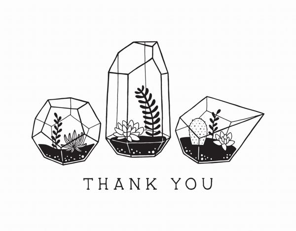 Terrarium Thank You