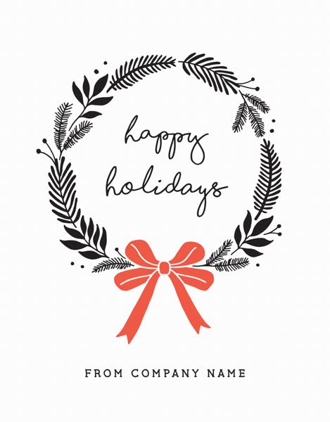 Bold Holiday Wreath