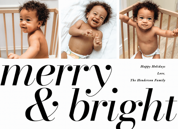 Merry And Bright Type