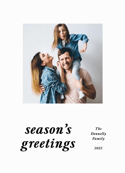 Season's Greetings Type