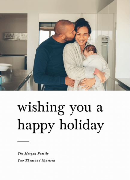 Happy Holidays Type