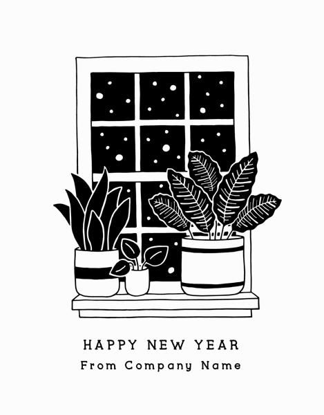 Nighttime Plants New Year