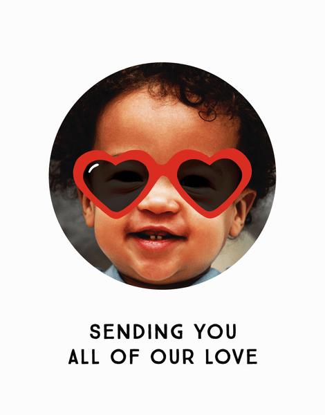 Sending Love Glasses