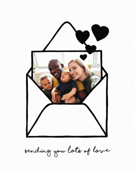 Sending You Love Envelope