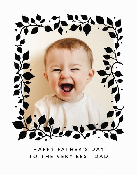 Father's Day Leaf Frame