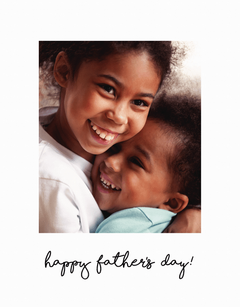 Simple Father's Day Script
