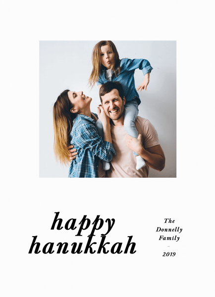 Happy Hanukkah Serifs
