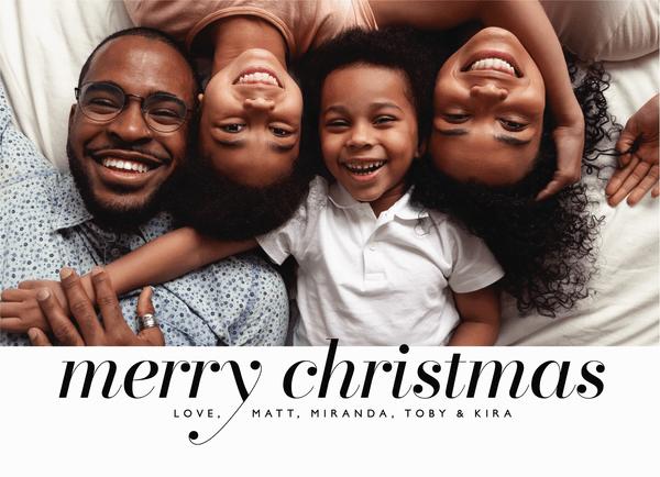 Serif Christmas