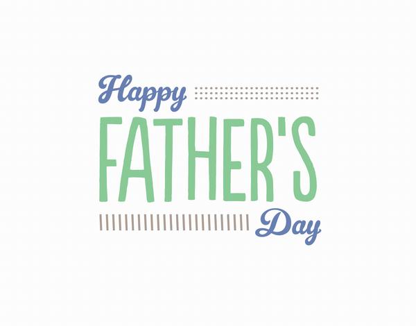 Retro Father's Day Card