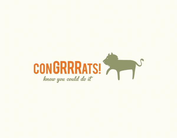 Animal Congrats
