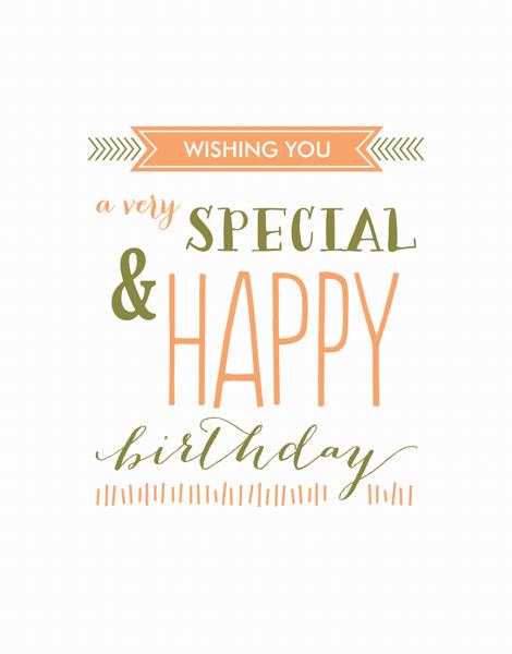 Special Birthday