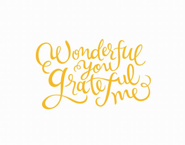 Wonderful Grateful