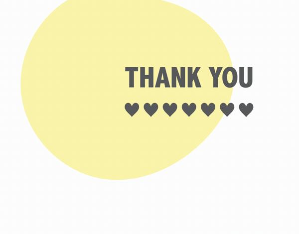 Yellow Thanks