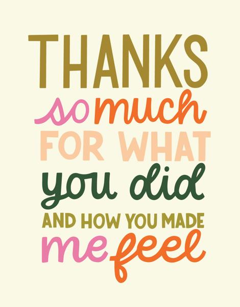 Thanks So Much