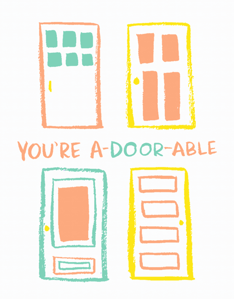 You're A-Door-Able