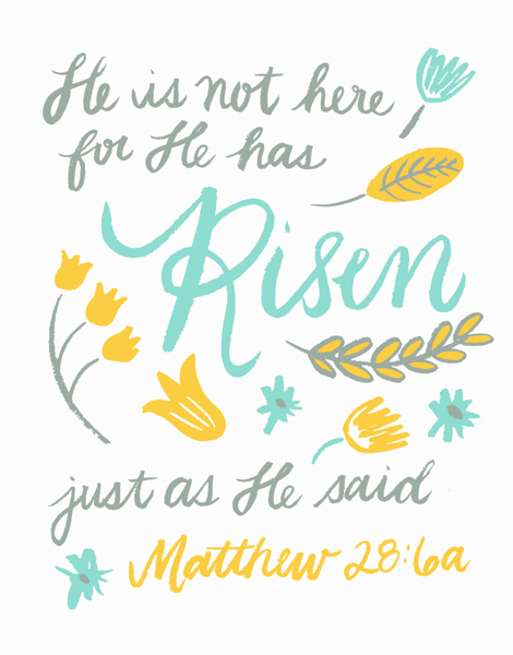 Easter Bible Verse