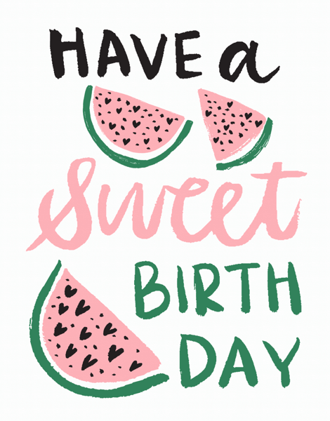 Have A Sweet Birthday