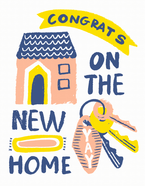 New Home Congrats