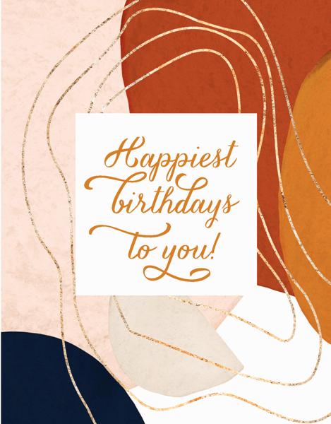 Happiest Birthdays