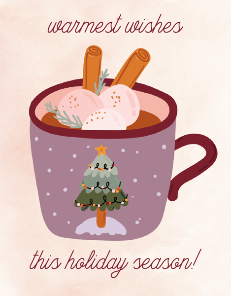 Warmest Wishes Mug