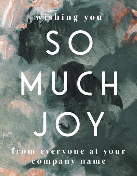 So Much Joy