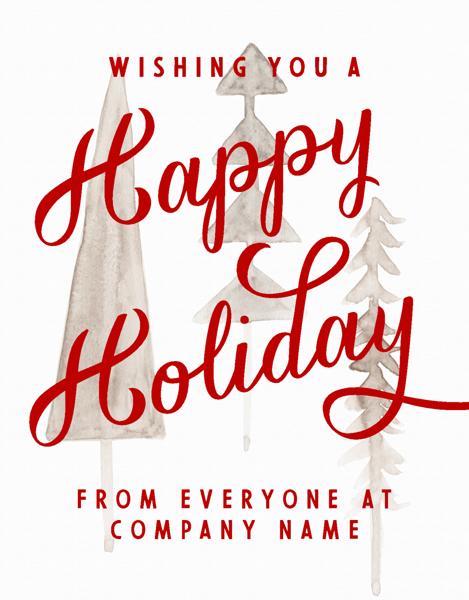 Happy Holiday Script